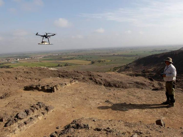 Peru Using Drones To Map Sites