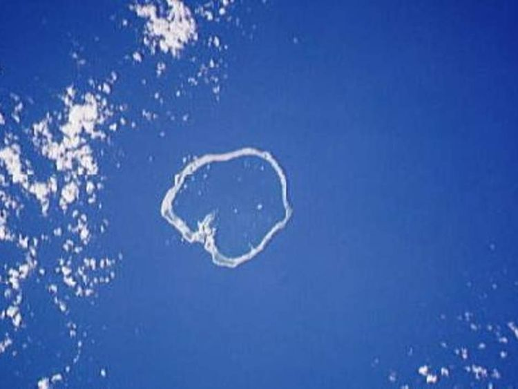 Ebon Atoll in the Marshall Islands