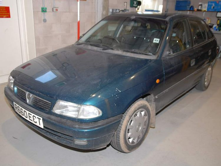 The Vauxhall Astra used in the murders