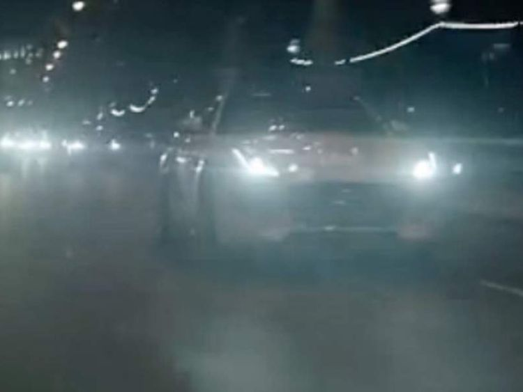 Jaguar on Embankment