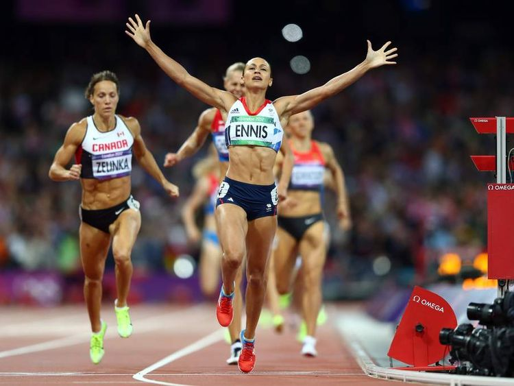Jessica Ennis takes Olympic gold