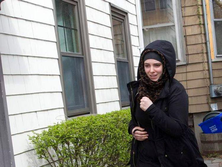 Katherine Russell wife of marathon bomber Tamerlan Tsarnaev
