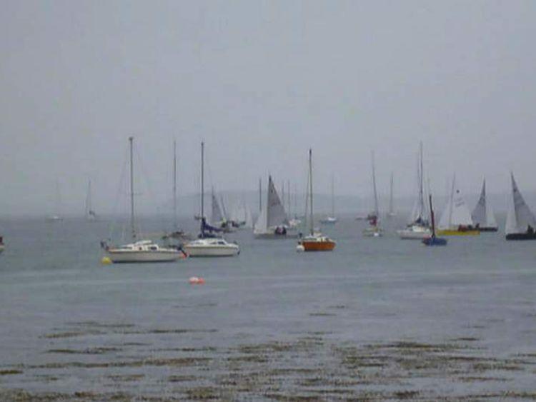 Boats capsize
