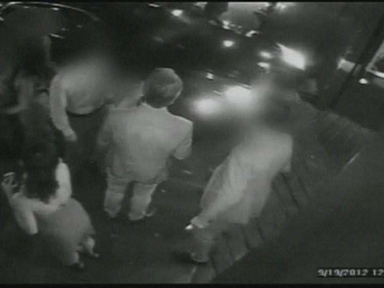 Lindsay Lohan drives through pedestrians in New York
