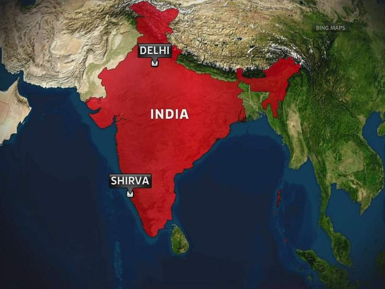 Shirva in southern India