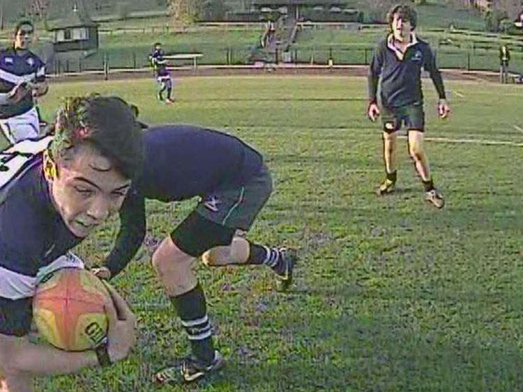Rugby ref-cam