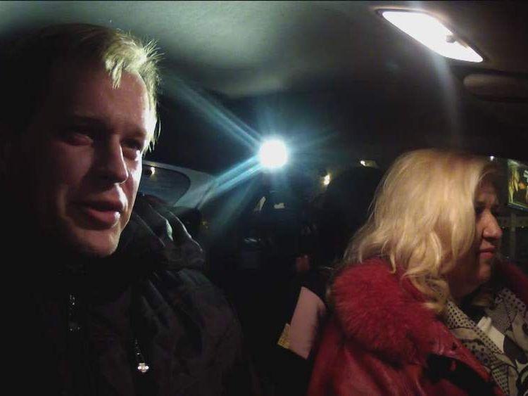 Tatyana and Mickhail Sanadze found love among Moscow traffic jams