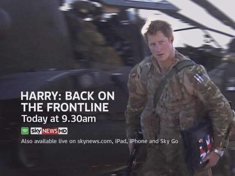 Prince Harry On Afghanistan Frontline Promo