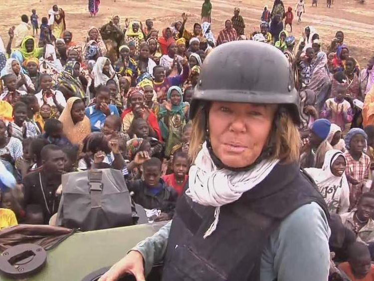 Alex Crawford in Timbuktu
