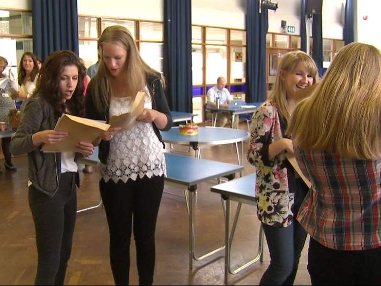 GCSE exam results published