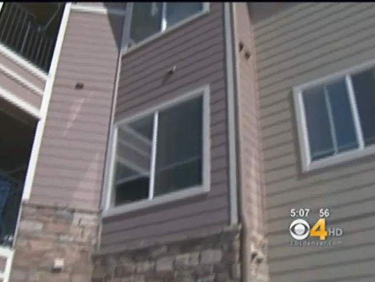 Falling Kid Dylan Hayes Window Pic: KCNC/CBS4