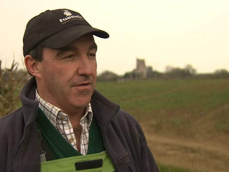 Farmer Andy Fussell