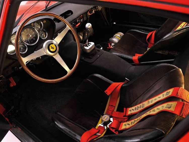 Ferrari 250 GTO sold at auction