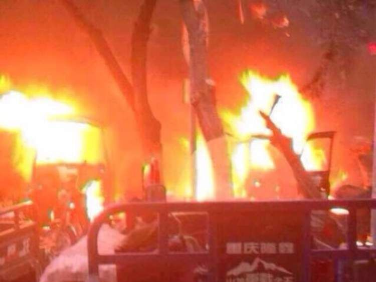 China market explosion kills dozens in Urumqi