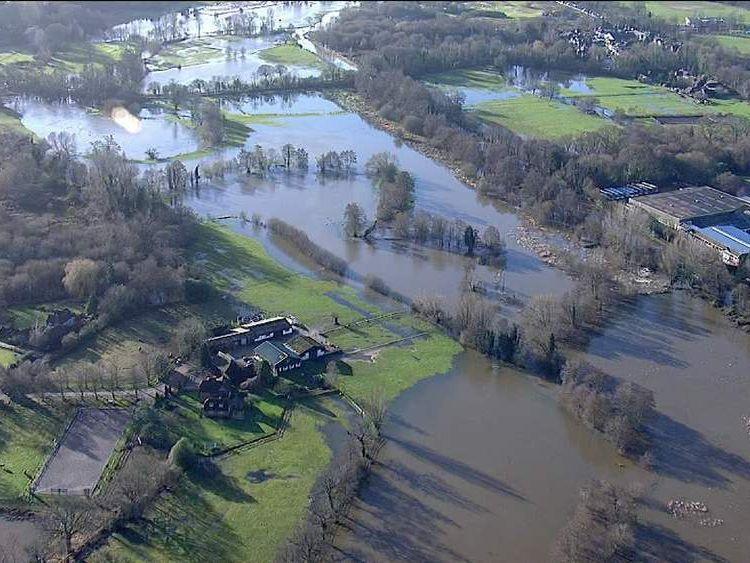 Flood warnings across UK