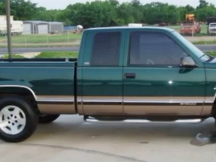 Brian Floyd's truck