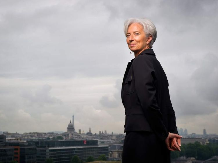Police have searched the flat of Christine Lagarde, the boss of the IMF