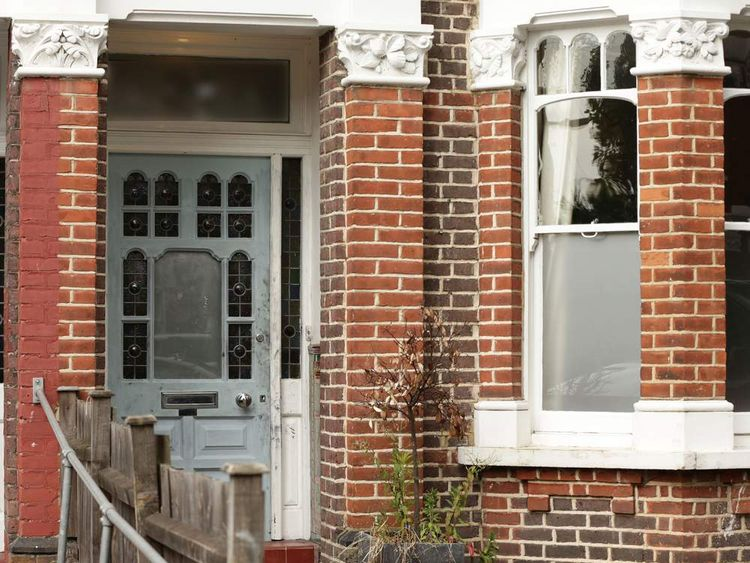 Ian Wright;s home in London
