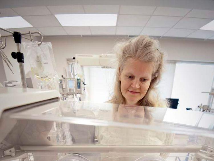 Kim Fugate gave birth to Quadruplets in the University of Mississippi Medical Center. Pics: UMC