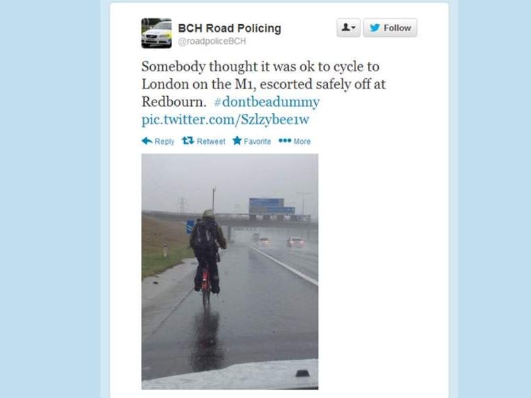 BCH Road Policing Twitter