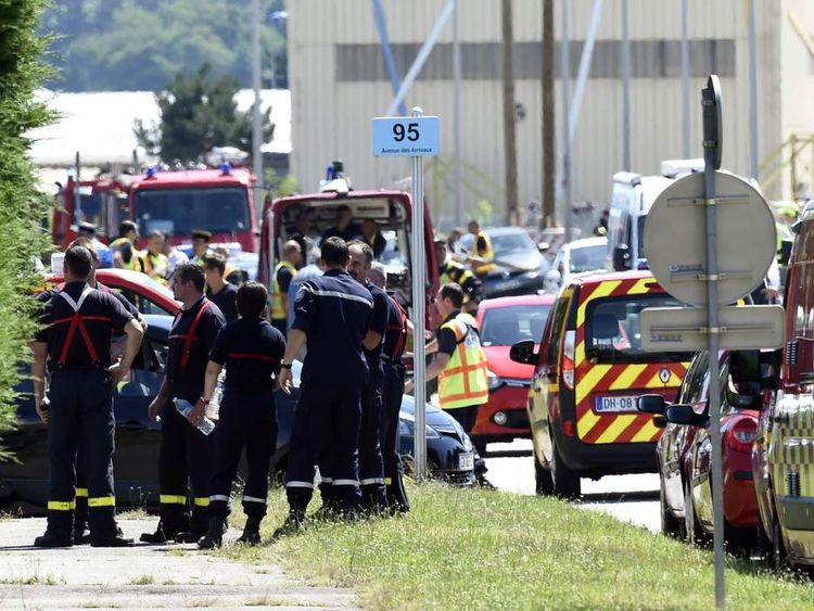 Grenoble attacks