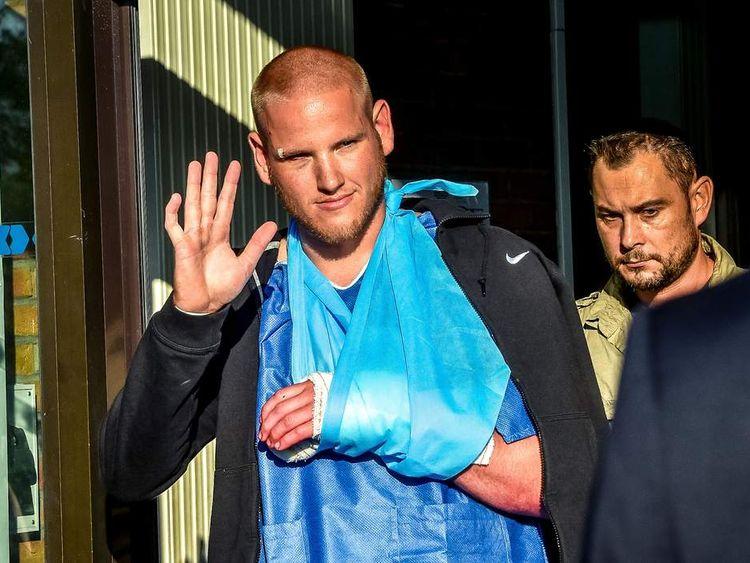 Spencer Stone leaves hospital