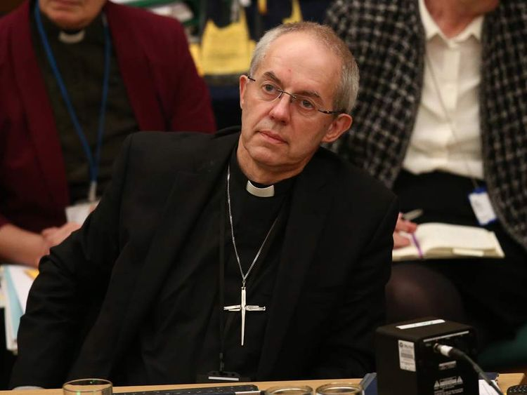 Archbishop Of Canterbury Most Reverend Justin Welby