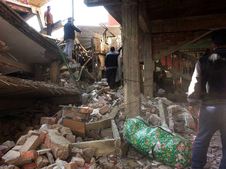 A 6.8-magnitude earthquake has struck in India.