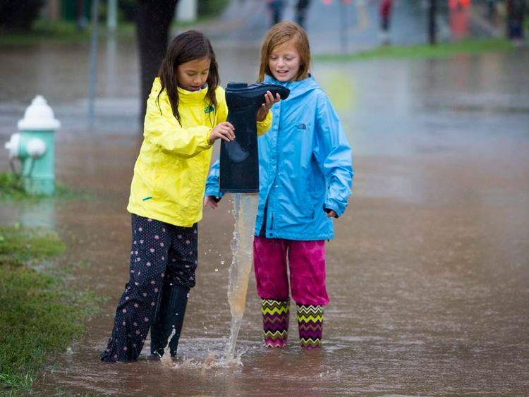 Major Floods Inundate Boulder, Colorado