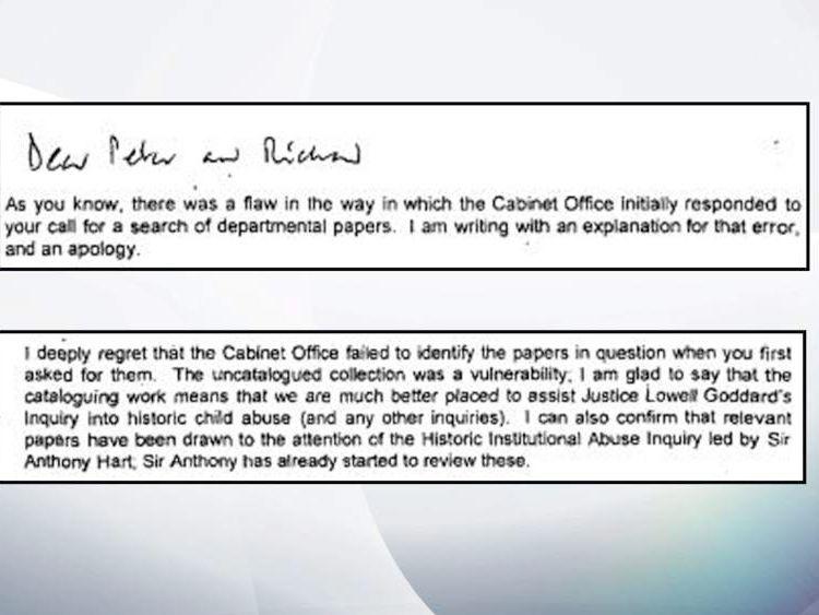 Permanent Secretary Richard Heaton wrote to Whittam and Wanless