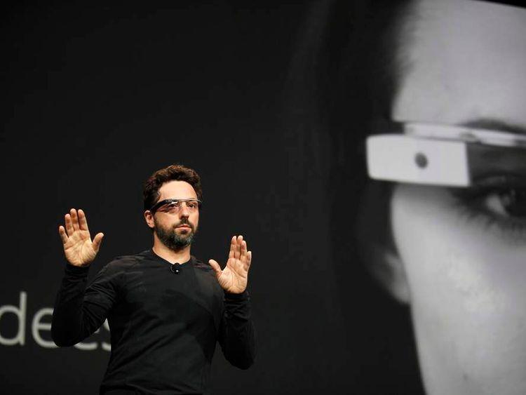 Sergey Brin showcases Google Glass