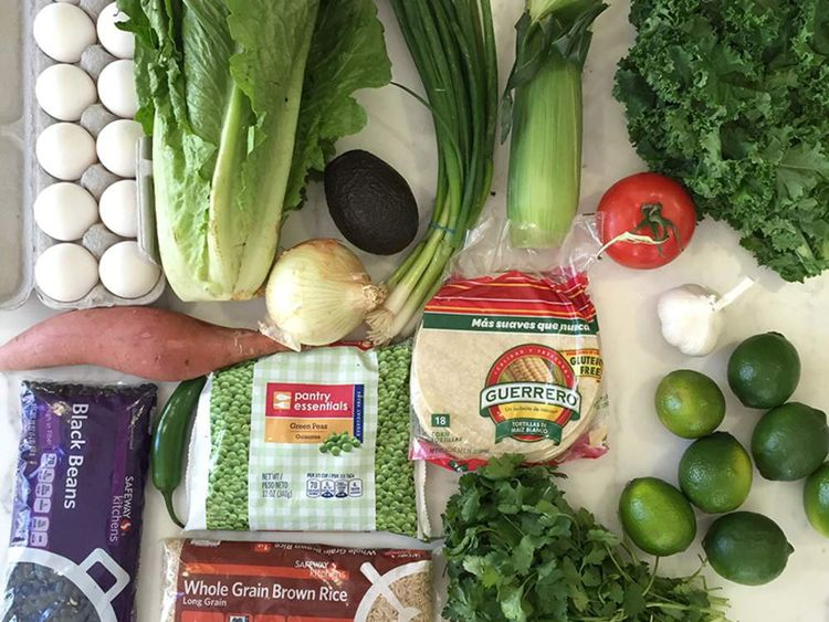 Gwyneth Paltrow Food Stamps challenge. Pic: Goop