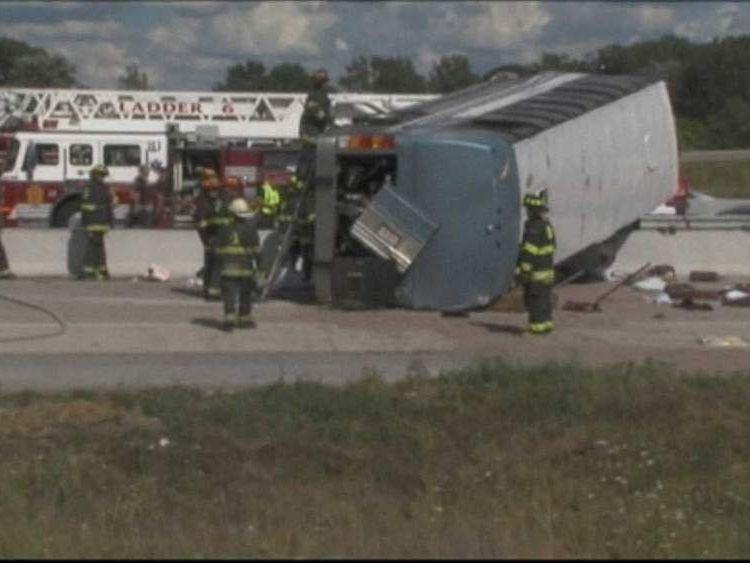 Bus Crash in Indianapolis