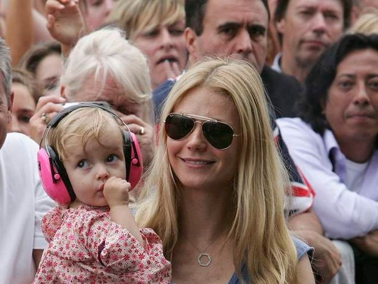 Gwyneth Paltrow and her daughter Apple