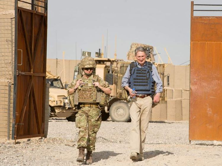 Closure of FOB Sterga, the last UK forward operating base in Afghanistan