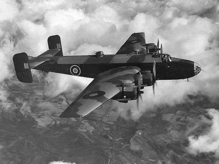 A Handley Page Halifax bomber