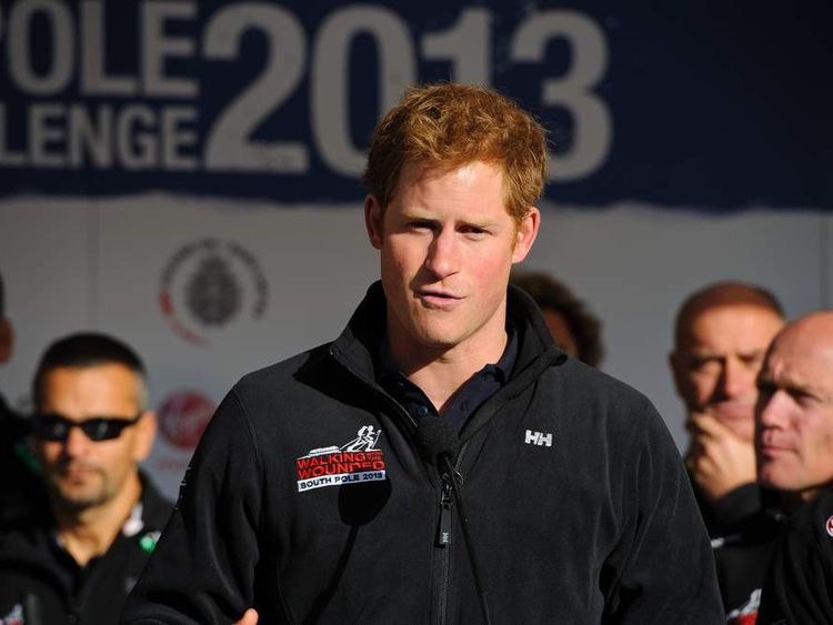 Prince Harry Departs For Trek to Raise Funds For Walking With The wounded