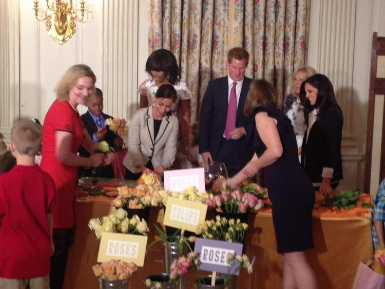 Prince Harry at the White House