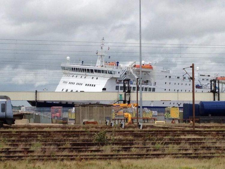 Harwich Ferry Crash