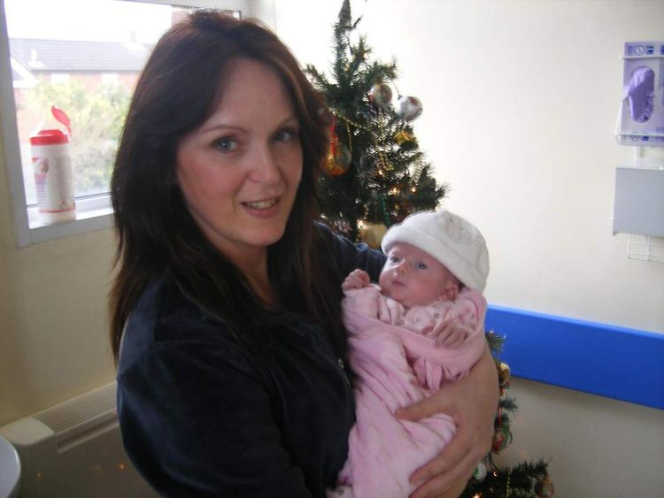 Paula Stevenson with her daughter Hayley