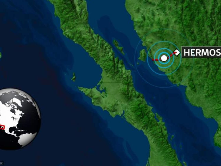 Earthquake thought to have cause 1km crack near Hermosillo