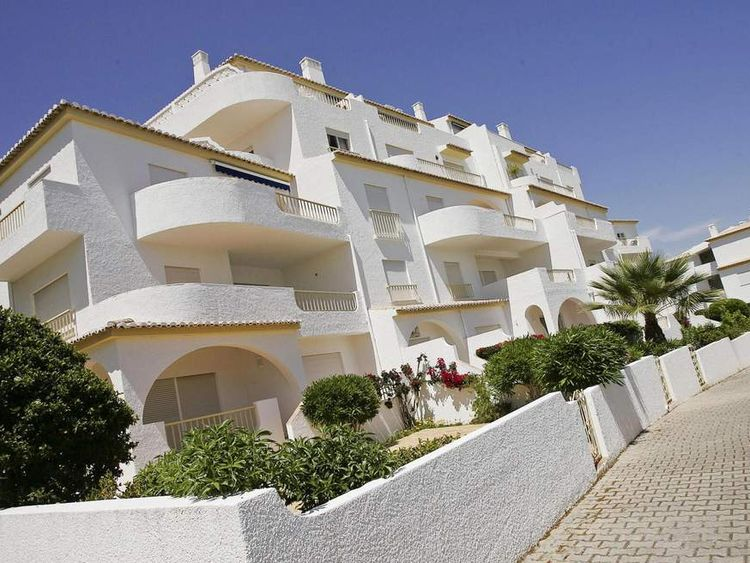 Apartment hotel building in Portugal from where Madelaine McCann disappeared
