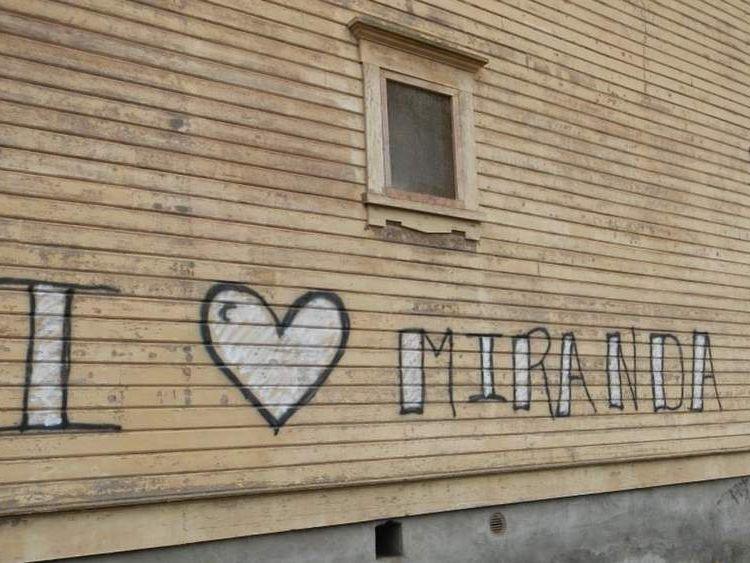 Graffiti at Uptown Theatre in Port Townsend, WA Pic: Gideon Cauffman