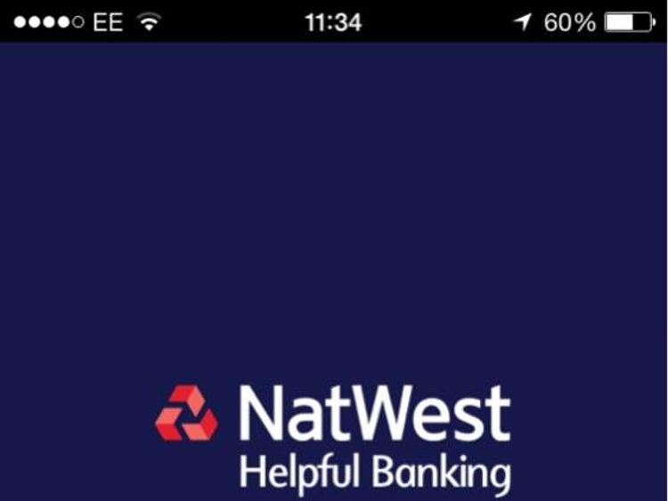NatWest mobile banking error message