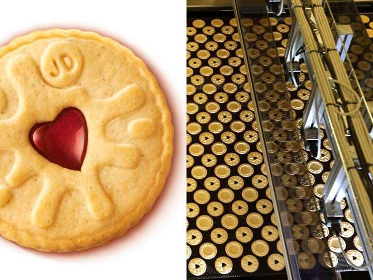 Jammy Dodger biscuit