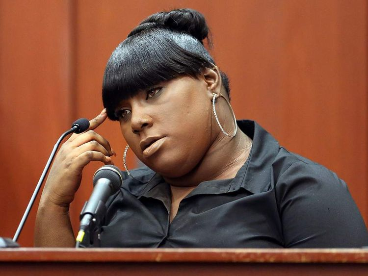 Rachel Jeantel takes the stand