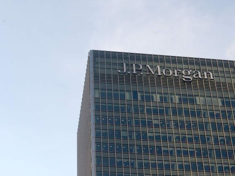 The JP Morgan building, London