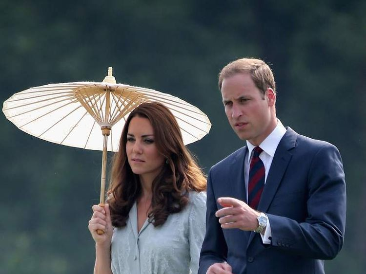 The Duke and Duchess Cambridge