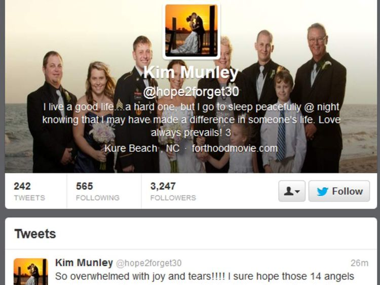 Kim Munley's twitter reaction to Fort Hood verdict
