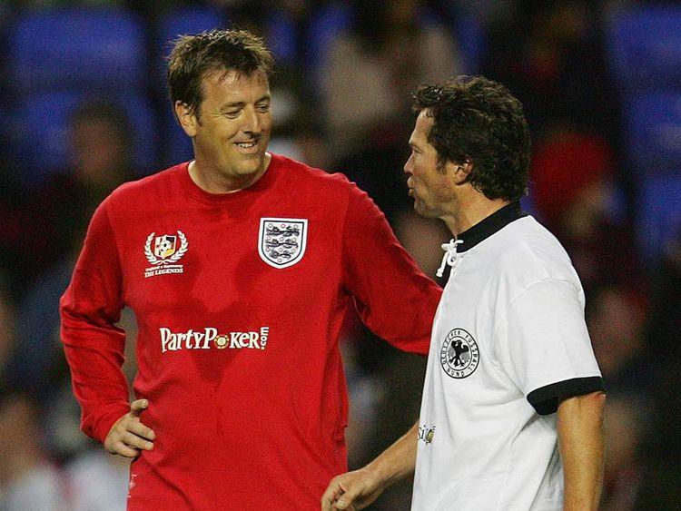 Former England and Southampton footballer Matt Le Tissier